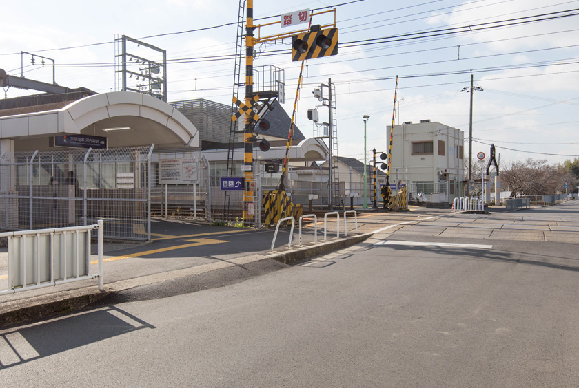 京阪交野線「河内森」駅