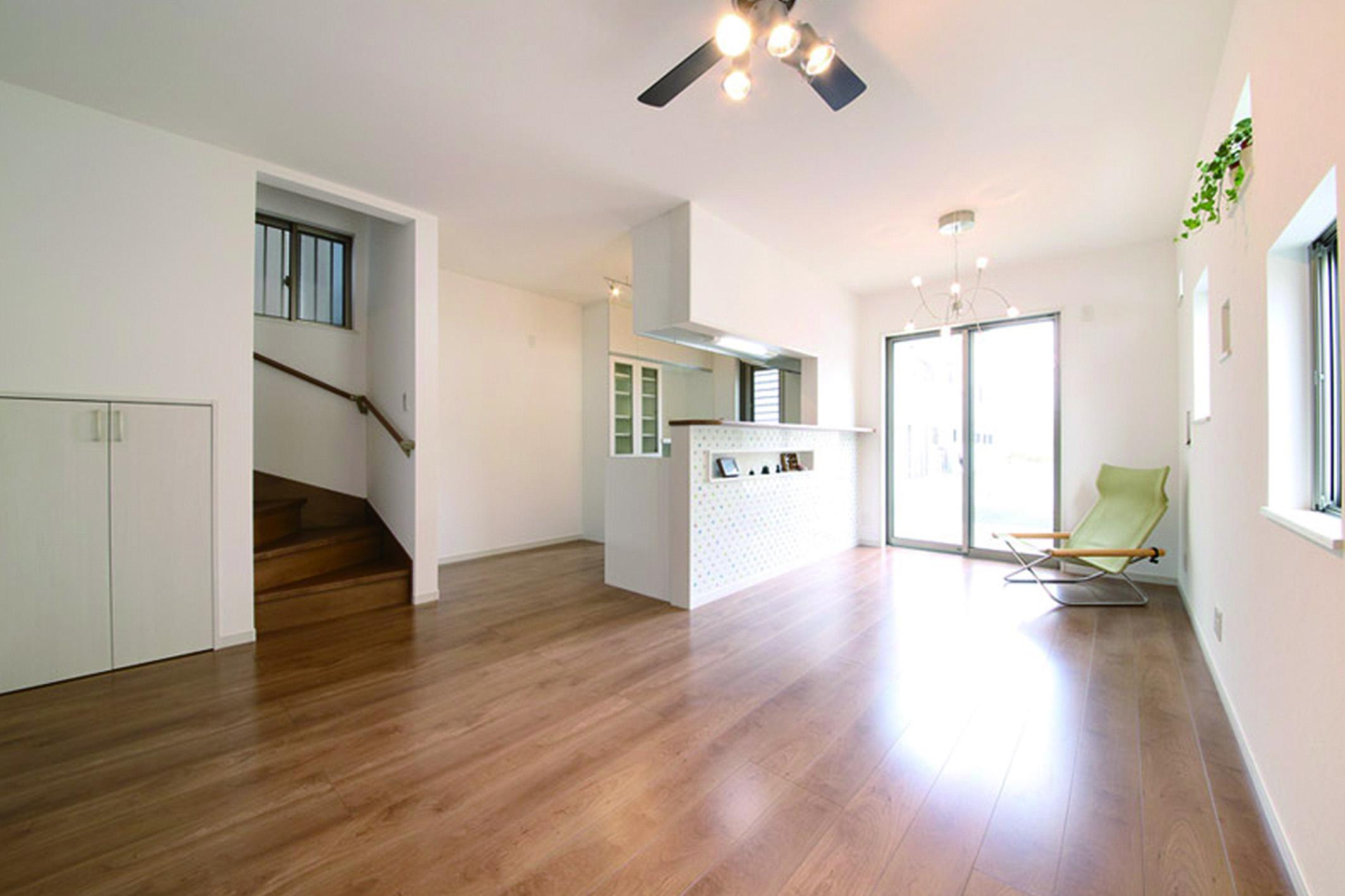 南向きの注文住宅対応区画で理想の住まいを実現できます。