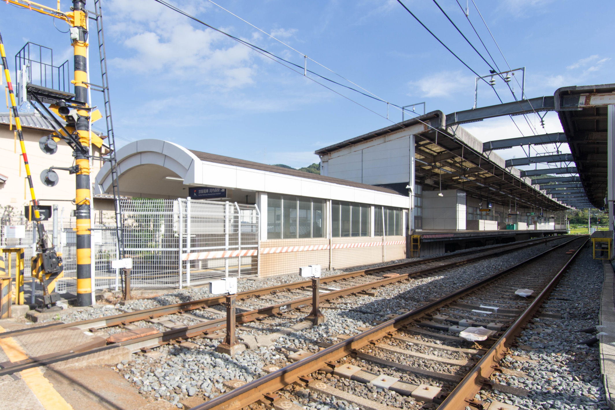 京阪交野線「河内森」駅へ徒歩3分。「祇園四条」駅へ乗車42分。京都市内へのアクセスも良好。※「枚方市」駅で特急に乗り換えの場合。