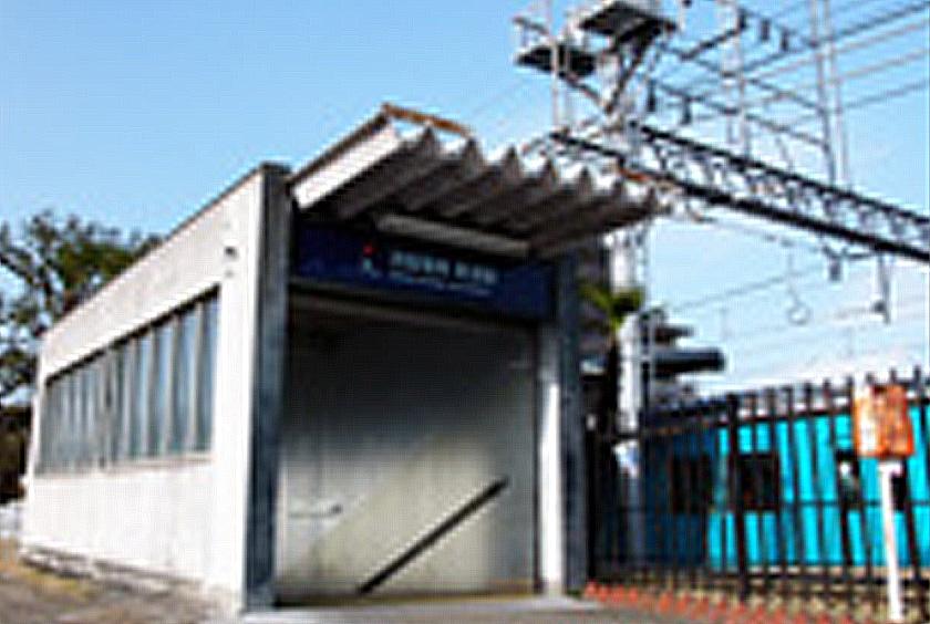 京阪交野線「郡津」駅